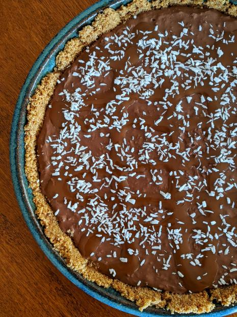 Chocolate Coconut Dream Pie