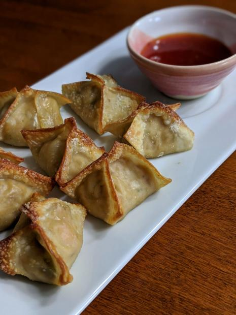 "Jackfruit ""Crab"" Rangoon"
